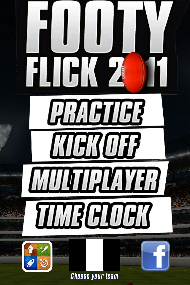 Screenshot Footy Flick 2011